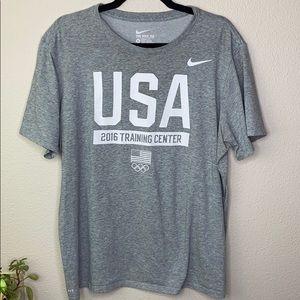 Nike Tee USA Training Center 2016 Olympics XL